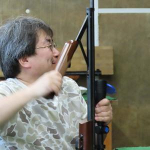 2019/06/16  空気銃の射撃会('ω')ノ