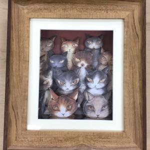 猫ちゃん 大集合 ダヤンのカードで❣️