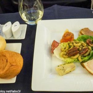 【Inflight meal 】JL 日本航空 JL005 ニューヨーク ー 羽田 JFK – HND ビジネスクラス機内食 2019 JUL.