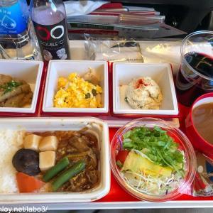 【Inflight meal 】JL 日本航空 JL31 羽田 ー バンコク HND – BKK エコノミークラス機内食 2019 DEC