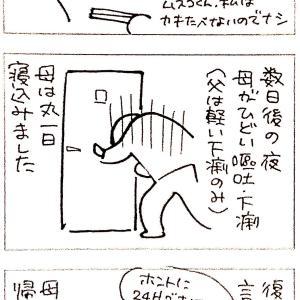人生初ノロ(疑い)
