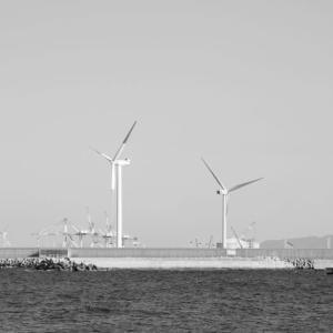ひびき海の公園人工海浜を散歩(2021年1月)X-Pro3