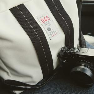 横浜帆布のカメラバッグ