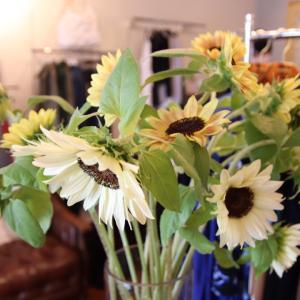 向日葵のお花の様に明るく過ごしましょう