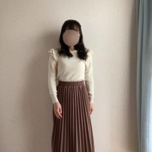 憧れのロングプリーツスカート