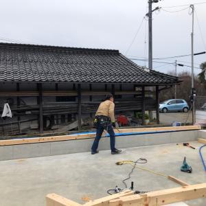 我が家の新築工事進捗状況