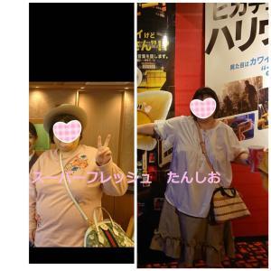 ワンダーコアすごいね!と、今月のHbA1cと、今日の体重&画像比較(顔、体)