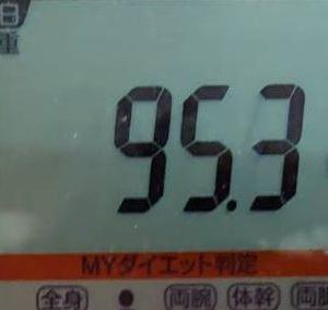 更新遅くなりました、今日の体重と、今月のHbA1cです!