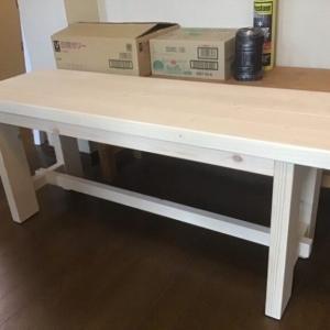 屋外用のベンチの作り方 2X4でDIY(図面付き)