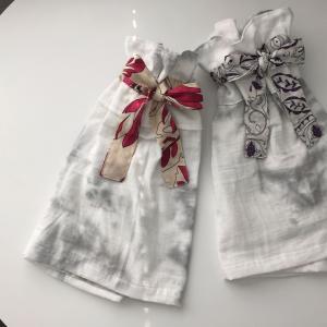 男の子のママなのに、女の子のお洋服を作って喜んでいる私。