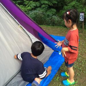 【キャンプ】7/15-16大正池グリーンパーク