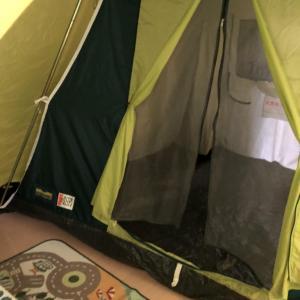 【キャンプギア】鉄骨テント