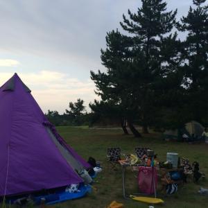 【キャンプ】7/30-31 鳥取県立こどものくに
