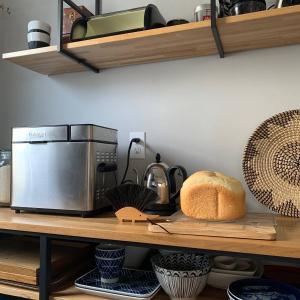 クイジナートのステンレス製ホームベーカリーを愛用中。パン作りは探求の旅