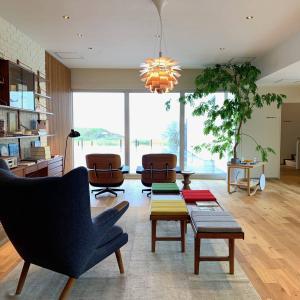 糸島のゲストハウスbbb haus(スリービーハウス)で名作家具に囲まれ何もしない休日