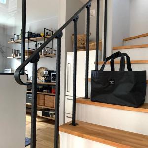 優秀な買い物バッグ。アンジェのレジカゴバッグはコンパクトで大容量