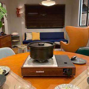 インテリアに本気で優しいカセットコンロ「イワタニ」のかぐらで気分が上がる鍋タイム
