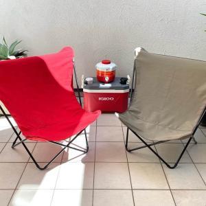アウトドアチェア・ラフマはハンモックみたいな座り心地。室内でも活躍するコスパ大の椅子