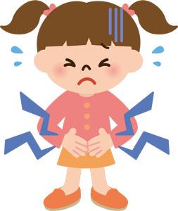 頻繁に腹痛を訴える小1長女。小児科を受診してきました。