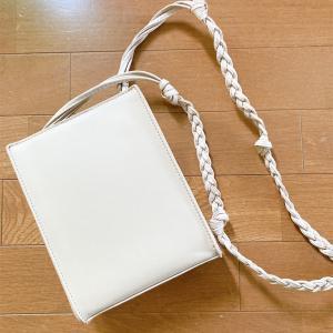 ちょっとそこまで。スクエア型のミニバッグを買いました。