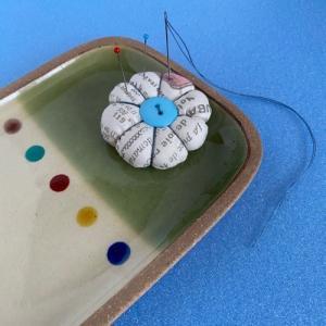 一翠窯の角皿