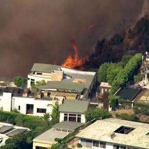 サンタアナと山火事