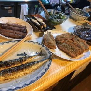 宇野駅 築港北側の人気の定食屋、「大阪屋食堂」さん