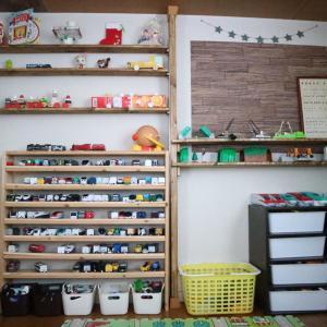 子供部屋改造スタート!ブルーの壁紙で北欧風?