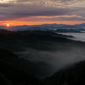 明けの雲海