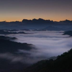 雲海 ~力強い光