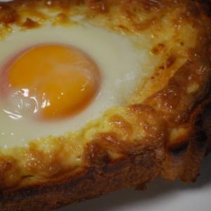 CMの「こがしマヨたまトースト」作ってみた