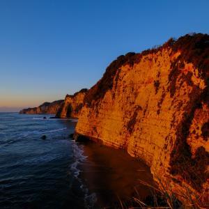釣師海岸の夜明け