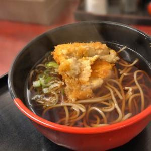 コロッケそばは「天ぷらそばボタン」で そば・うどん 蓼科