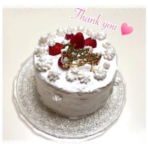 娘たちお手製のお誕生日ケーキ♪