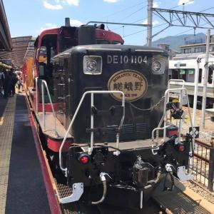 嵯峨野トロッコ列車の乗車記ブログ