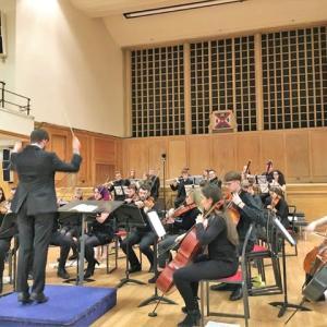 大学学生交響楽団の演奏を聴く