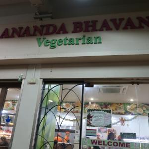 リトル・インディアでベジタリアンの南インド料理「アナンダ・バーバン」