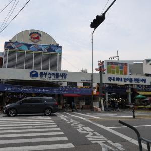 市場のはしご!芳山市場にも寄りましたよー。