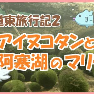 釧路から阿寒湖へ!遊覧船でアイヌコタンとマリモ観光~秋の道東旅行3