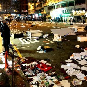 【情報】今の香港。デモ活動がより一層深刻に。。