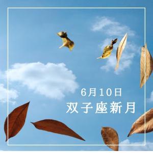双子座新月〜何気ない日常に歓びを見出す〜