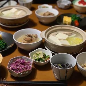 湯豆腐とすじこごはん(*^▽^*)