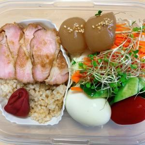 ダイエット弁当(*^▽^*)チャーシュー丼