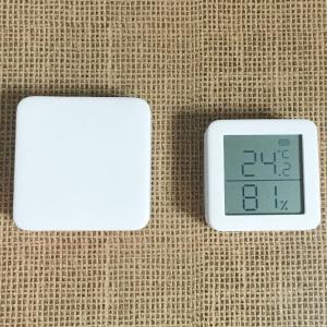 ペットの留守番に便利!室内温度でエアコン自動制御(SwitchBot)