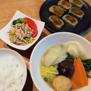 美味しいカレー&白菜と鶏肉だんごの煮物