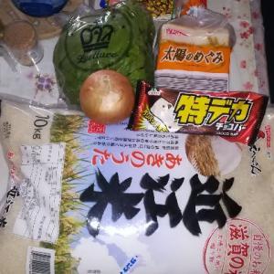 お買い物、滋賀県米10㎏2999円