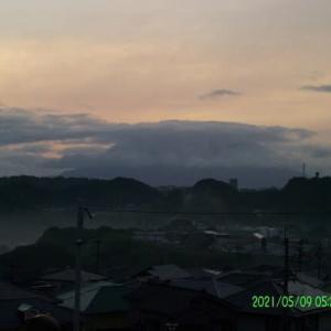 2021年05月09日 朝の桜島
