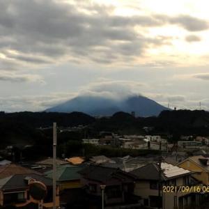2021年09月60日 朝の桜島