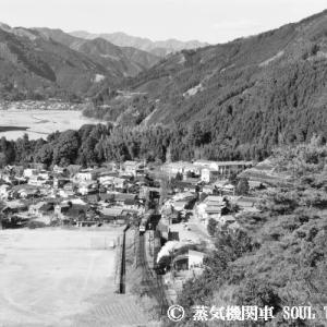 大井川鐵道・アーカイブ 1980-1983年 その2  「下泉駅大俯瞰」