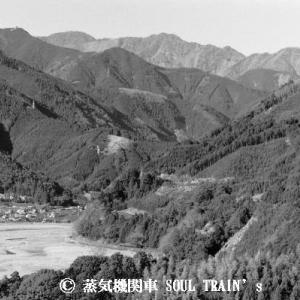 大井川鐵道 その22  「南アルプスは見えなかった」